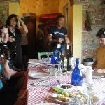 Gracious hosts and a big lunch