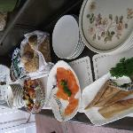 Delicious food available in addition to hot breakfast. All foods tasted of high quality.