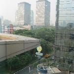View from my room - Room 711 (Photos by: Ricoy)