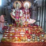 Radha krishan darsan at Kali paltan mandir
