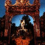 Un détail de la place Stanislas-Nancy (à voir)