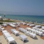 Terasse restaurant vue sur mer magnifique