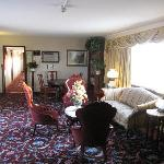 Victorian interior that doesn;t make sense in 1960's hotel