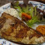 Uno de los platos más populares, la ventresca a la parrilla