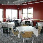 2nd floor interior dining at Mariachi