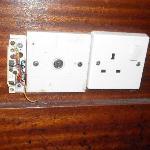 Interuttori elettrici con fili scoperti