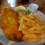 haddock and chips, bargain £7.95!