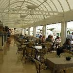 Restaurant at Club Dauphin
