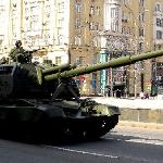 Russia Victory Day 9 May 2011- mobile column