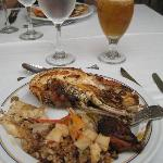 Lunch buffet - grilled lobster