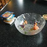 Empty salad bowl