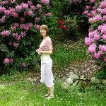 Photo taken in the garden at Cascina Cesarina