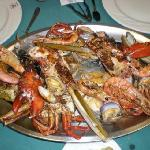 sea food parillada