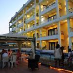Hotel building @ night