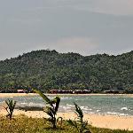 Daytime view of beach