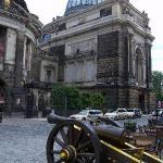 """Diese Kanone markiert den Eingang zum """"Pulverturm"""""""