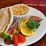 Hummus and pitta