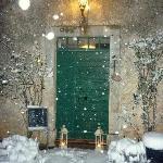 Maison le Bost in wintertime