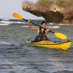 Teena Surfing Mkadini Bay