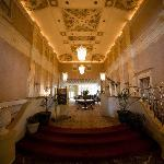 The Grand Lobby at the General Morgan Inn, Photo by Essential Moments Photography