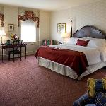 Standard King Room at the General Morgan Inn overlooking the Historic District