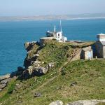 NCI Coastwatch lookout on The Island, St Ives