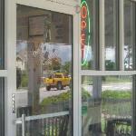 Manteo location's front door