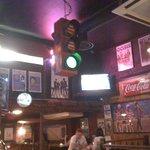 green light - bar is open!