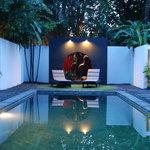 Arvina Villas Pool Area