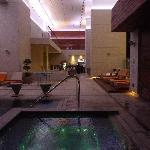 Pool im 11. Obergeschoss