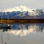 Bahía de Puerto Natales, Chile