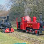 Our steam engines , Muffin and Zebedee