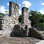 See the ruins of the Slave Masters House