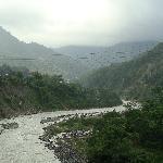 Trailing river at Nainital foot-hill
