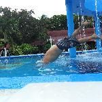 La piscina Nro.3 con hidromasaje