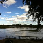 View over the Orange River from the garden