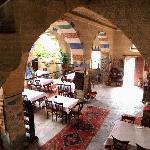 l' atrio e il ristorante