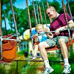 Zeus' Outdoor Theme Park - Chair Swing