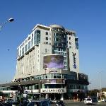 The Hotel, View from Gautrain Station