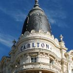 One of the iconic cupolas at the Carlton