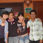 Us and the tuk tuk drivers - Heng and Sopan
