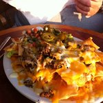 half order of Parrot Eyes nachos