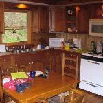 Inside the cabin