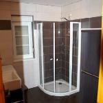 Salle de bain, coté douche