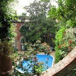 pool area ...