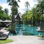 Grande piscine très propre très agréable pour la natation.