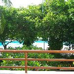 deluxe room over pool garden area