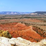 View from trail at Ghost Ranch