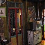 TV and door to 1st room