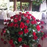 Hochzeitsstrauß im Restaurante